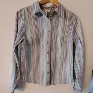 Coldwater Creek Long Sleeve Blouse - M